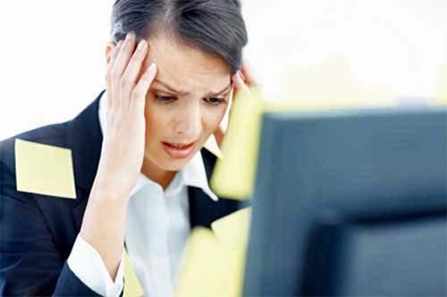 Căng thăng trong công việc cũng khiến bạn dễ bị suy giảm trí nhớ