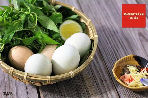 Trứng chứa nhiều protein tốt cho cơ thể
