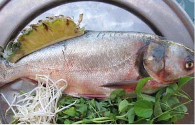 Món canh nấm hương đầu cá