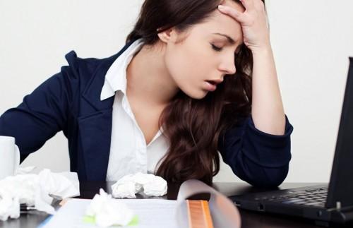 Căng thẳng quá mức dẫn đến bệnh đau đầu