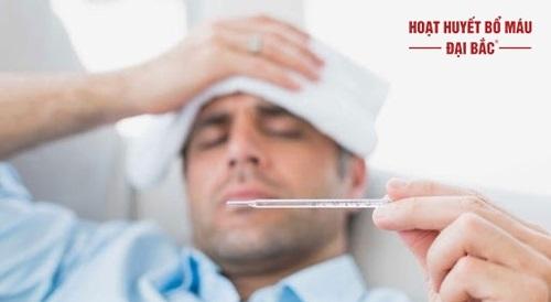 Sốt đau đầu nhức mỏi toàn thân