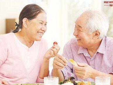Nhu cầu dinh dưỡng cho người cao tuổi