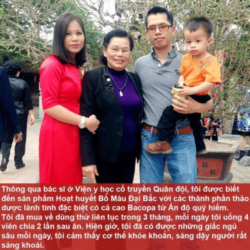 Cô Trần Thị Đắc chia sẻ cách trị mất ngủ