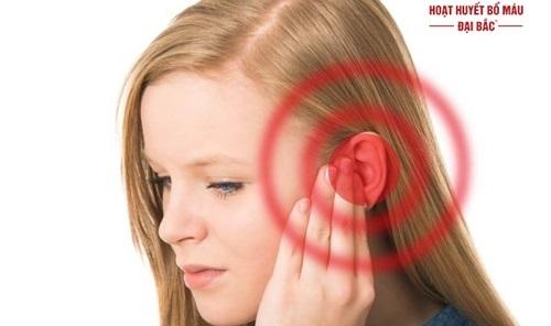 đau đầu hoa mắt chóng mặt ù tai