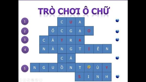 trò chơi ô chữ cũng là môt trong những cách giảm teo não hay trí nhớ suy giảm