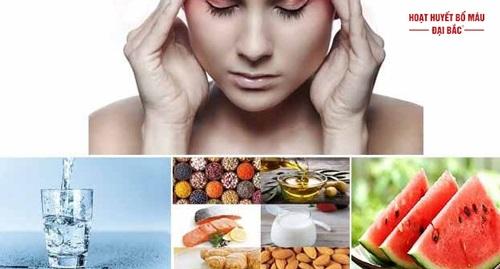 Ăn gì trị đau đầu
