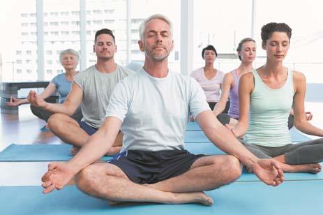 Yoga giúp trị liệu cho người cao huyết áp