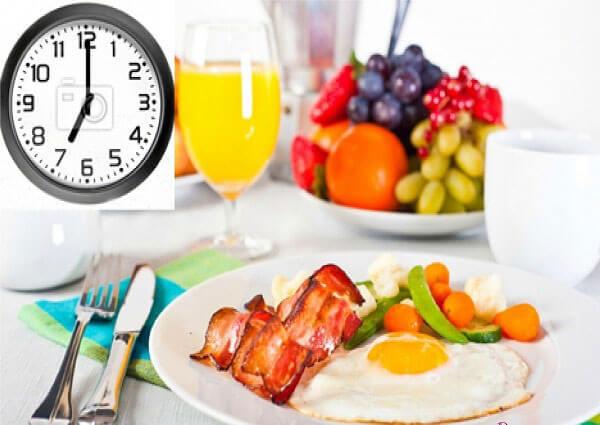 Chế độ ăn uống sinh hoạt