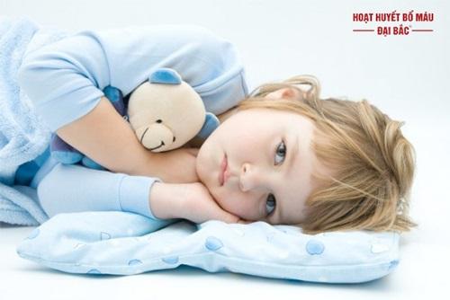 Bệnh mất ngủ ở trẻ nhỏ