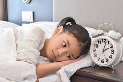 Triệu chứng khó ngủ ở trẻ em