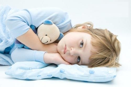 Vì sao trẻ em mất ngủ