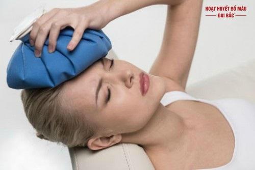 Cách làm giảm dau đầu khi căng thẳng