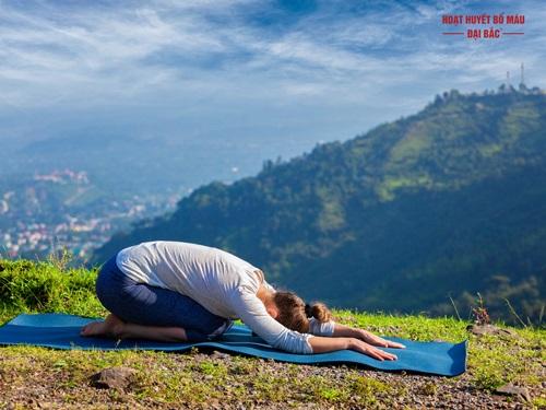 Bài tập yoga dành cho người cao huyết áp