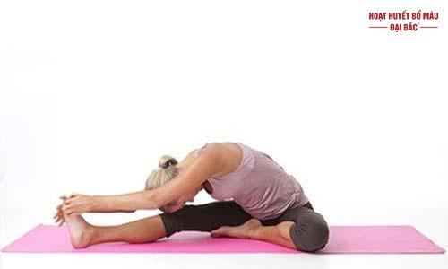 Bài tập yoga giảm huyết áp