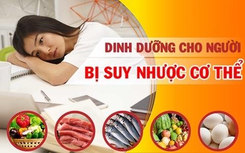Người bị suy nhược cơ thể nên ăn gì