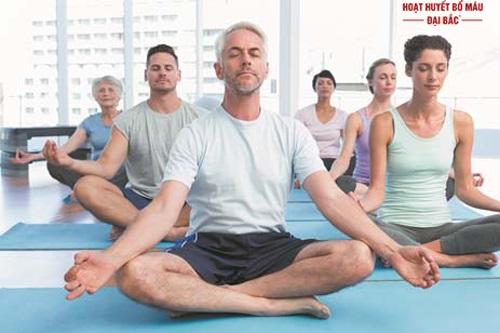 Những bài tập yoga cho người cao huyết áp