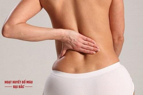 Bị đau vùng thắt lưng ơ phụ nữ