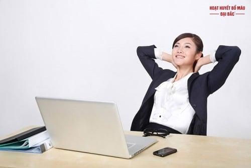 Cách giảm căng thẳng trong công việc