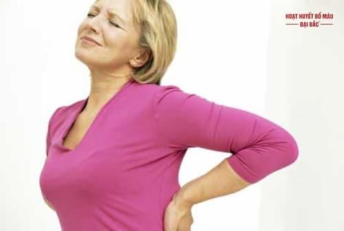 Phụ nữ đau lưng là bệnh gì