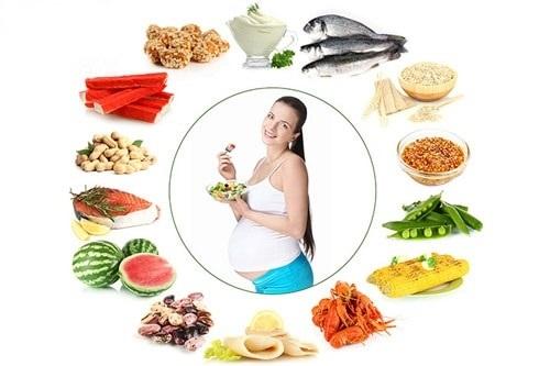 Những thực phẩm tốt cho não thai nhi