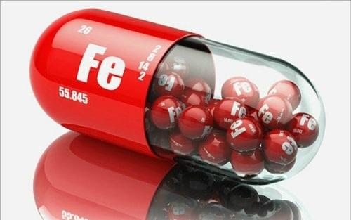 Thuốc bổ sung sắt cho người thiếu máu
