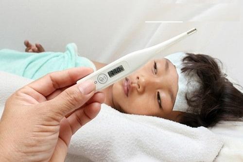 Dấu hiệu bệnh sốt xuất huyết ở trẻ em