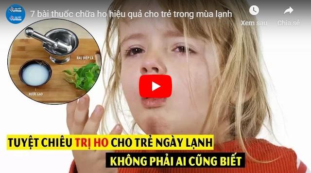 Video bài thuốc chữa viêm họng từ dân gian