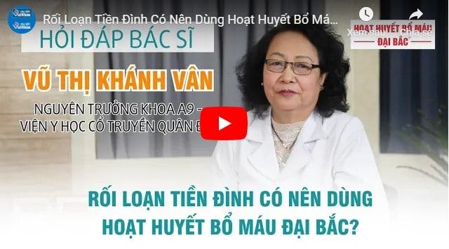 Video bệnh lý rối loạn tiền đình