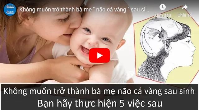 Video cách trị mất ngủ cho phụ nữ sau sinh