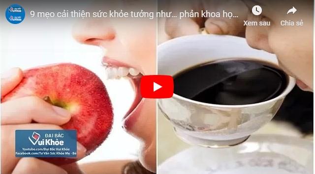Video chế độ dinh dưỡng cho người già
