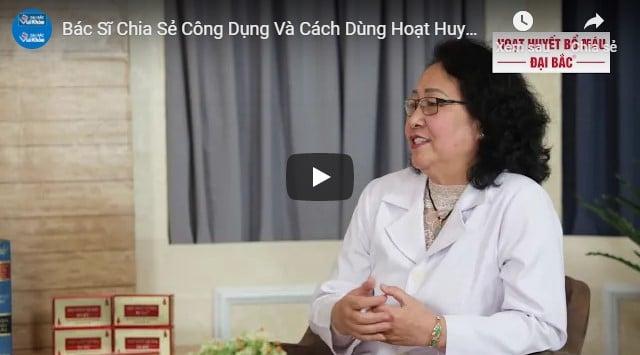 Video review hoạt huyết bổ máu Đại Bắc