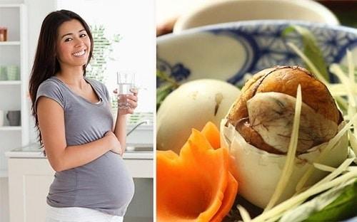 Các lưu ý khi ăn trứng vịt lộn là gì