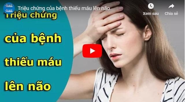 Video bài thuốc chữa bệnh thiếu máu não
