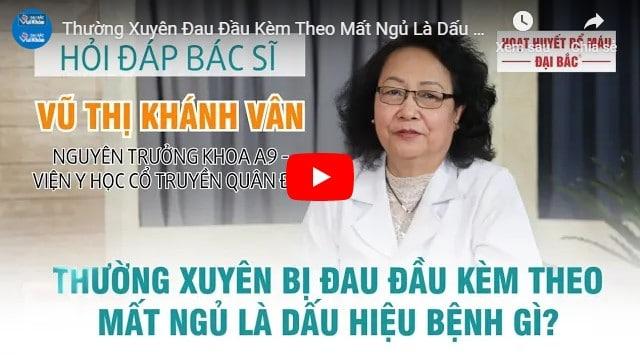 Video phác đồ điều trị đau đầu căng cơ