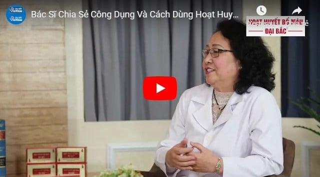 Video tác dụng của hoạt huyết dưỡng não
