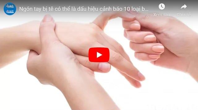 Video tê tay chân ở phụ nữ tuổi trung niên